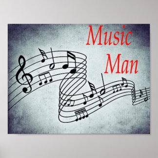 Musik-Mann Poster