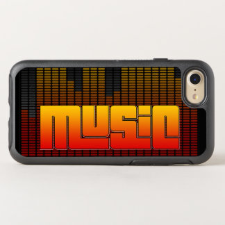 Musik OtterBox Symmetry iPhone 7 Hülle