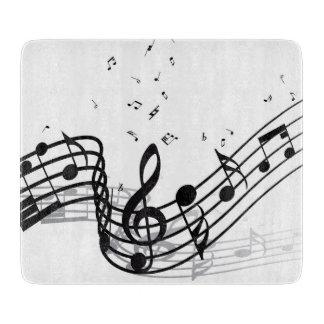 Musik Schneidebrett