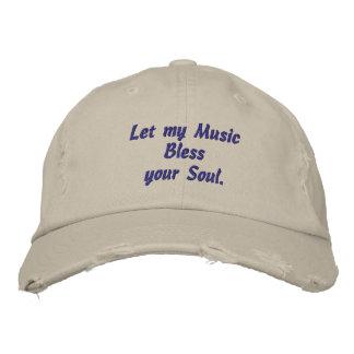 Musik, segnet Ihr Soul, gestickten Hut Bestickte Baseballkappen