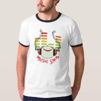 Musik-Snob Mehrfarben T-Shirt