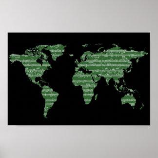 Musik zum Weltgrün Poster