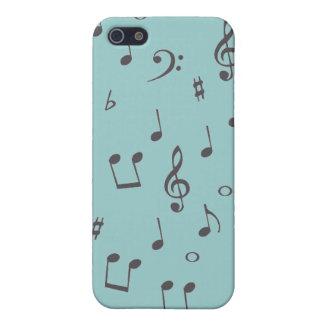Musikalische Anmerkungen iPhone 5 Schutzhülle