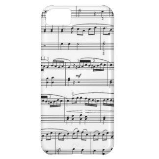 musikalische Anmerkungen iPhone 5C Hülle