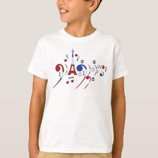 Musikalische Anmerkungen Paris T-Shirt
