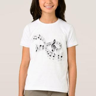 Musikalische Anmerkungen über eine Personal-Linie T-Shirt