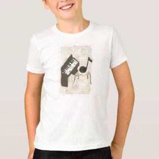 Musikalische Anmerkungs-KinderT - Shirt