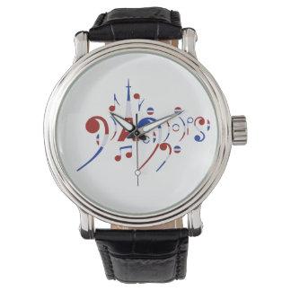 Musikalische Anmerkungs-Uhr Paris Uhren