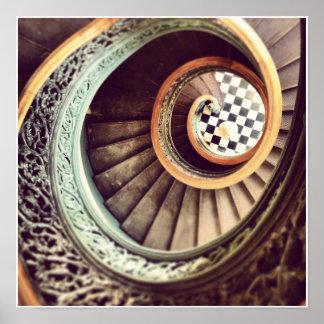 Musikalische Treppe Poster
