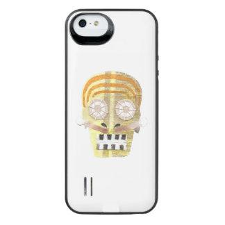 Musikalischer Schädel-Batterie-Satz iPhone SE/5/5s Batterie Hülle