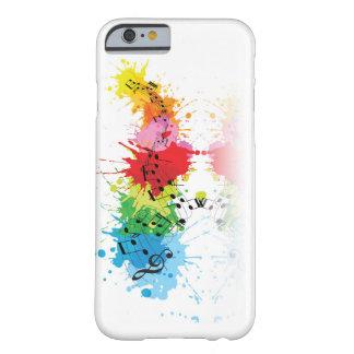 Musikalischer Telefon-Kasten Barely There iPhone 6 Hülle