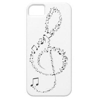 Musikalischer Violinschlüssel iPhone 5 Schutzhüllen