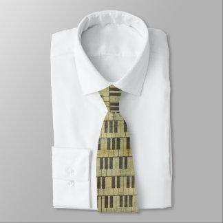 Musikanmerkung Muster-Musik-Thema-Krawatte Krawatte