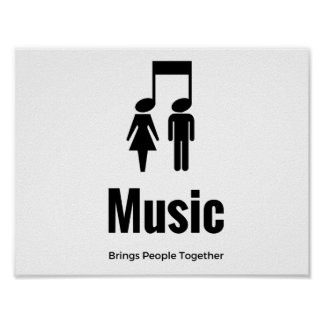 Musikfreunde Poster