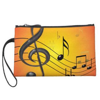 Musiknoten Bagettes Tasche