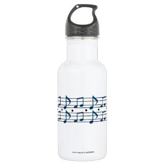 Musiknoten Trinkflasche
