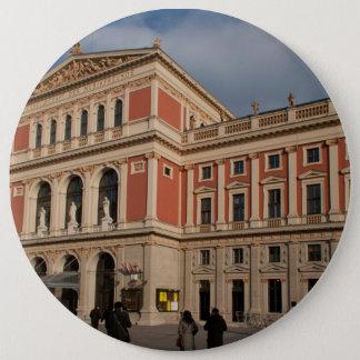 Musikverein, Wien Österreich Runder Button 15,3 Cm