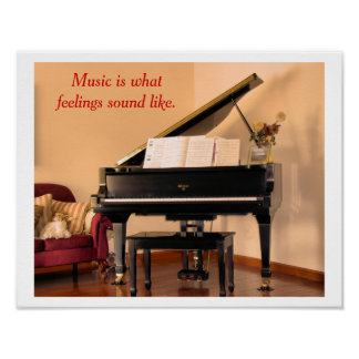 Musikzitat - Plakat