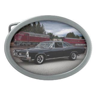 Muskel-Auto-sich fortbewegender Zug 1966 Pontiacs Ovale Gürtelschnallen