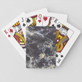 Muskovit-Glimmer-Nahaufnahme-Foto Spielkarten