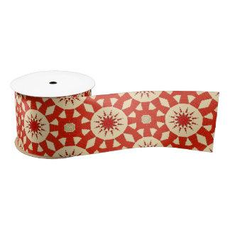 Muster #2 des roten Teppichs Satinband