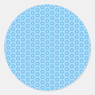 muster baby baby boy kleine kreise punkte dots runder aufkleber