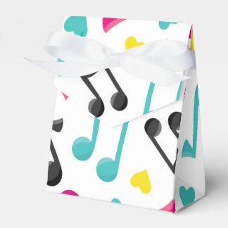 Muster-Gastgeschenkkasten der musikalischen Geschenkschachtel