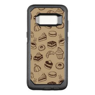 Muster mit Kuchen, Nachtischen und Bäckerei OtterBox Commuter Samsung Galaxy S8 Hülle