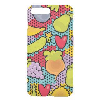 Muster mit Obst und Gemüse iPhone 8 Plus/7 Plus Hülle
