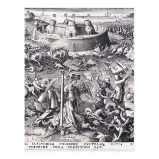 Mut durch Pieter Bruegel das Älteste Postkarte