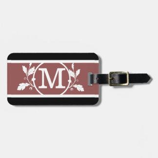 Mutiges RS1 mit Monogramm Gepäckanhänger