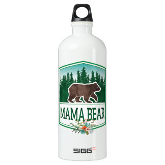 Mutter Bear Traveller Aluminiumwasserflasche