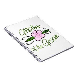 Mutter des Bräutigams Spiral Notizbücher