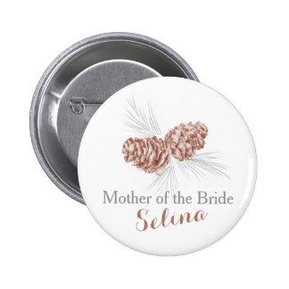 Mutter des runder button 5,1 cm