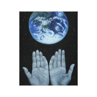 Mutter-Erde, Naturanerkennungs-ErdtagesLeinwand Galerie Falt Leinwand