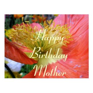Mutter-Geburtstag Postkarte