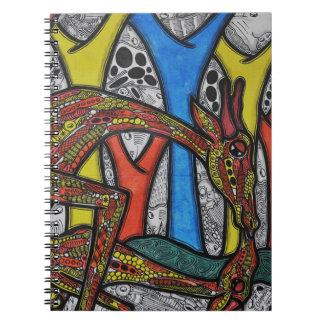 Mutter-Giraffe Spiralblöcke