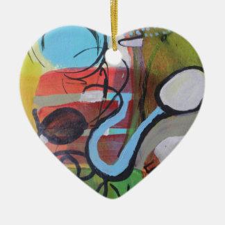 Mutter-Liebe Keramik Ornament