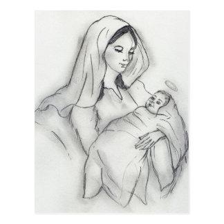 Mutter-Liebe Postkarten