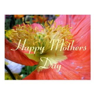 Mutter-Tagesgruß Postkarte