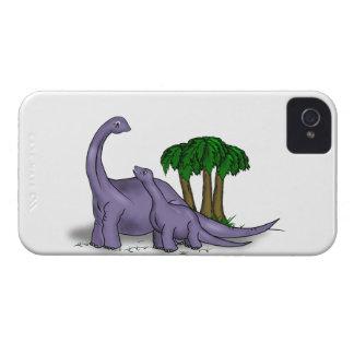 Mutter-und Baby-Dinosaurier iPhone 4 Hülle