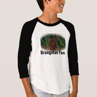 Mutter-und Baby-Orang-Utan Tier-Fan T-Shirt