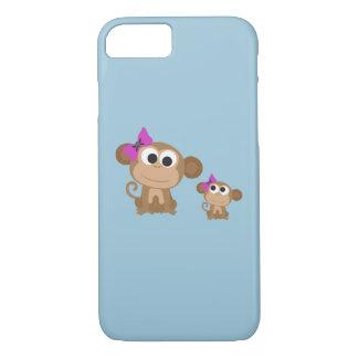 Mutter- und Babyaffe iPhone 7 Hülle
