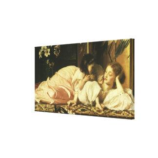 Mutter und Kind (alias Kirschen) durch Lord Leinwanddruck