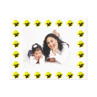 Mutter und Kind Leinwanddruck