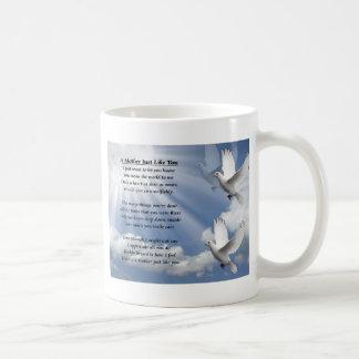 Muttergedicht - Tauben Tasse