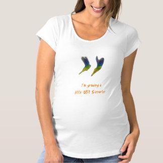 Mutterschafts (Jungen-) T - Shirt 'wenig OBP