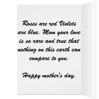 Muttertag Karte