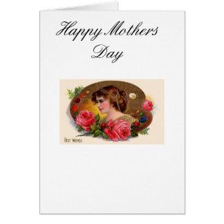 Muttertag Mitteilungskarte