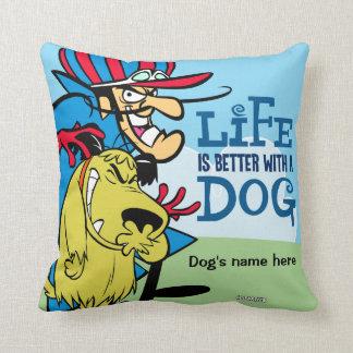 Muttley Hund und Dick pillow für Ihr Haustier Kissen